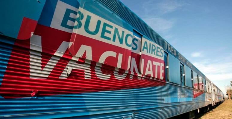 Tren Sanitario Vacunate